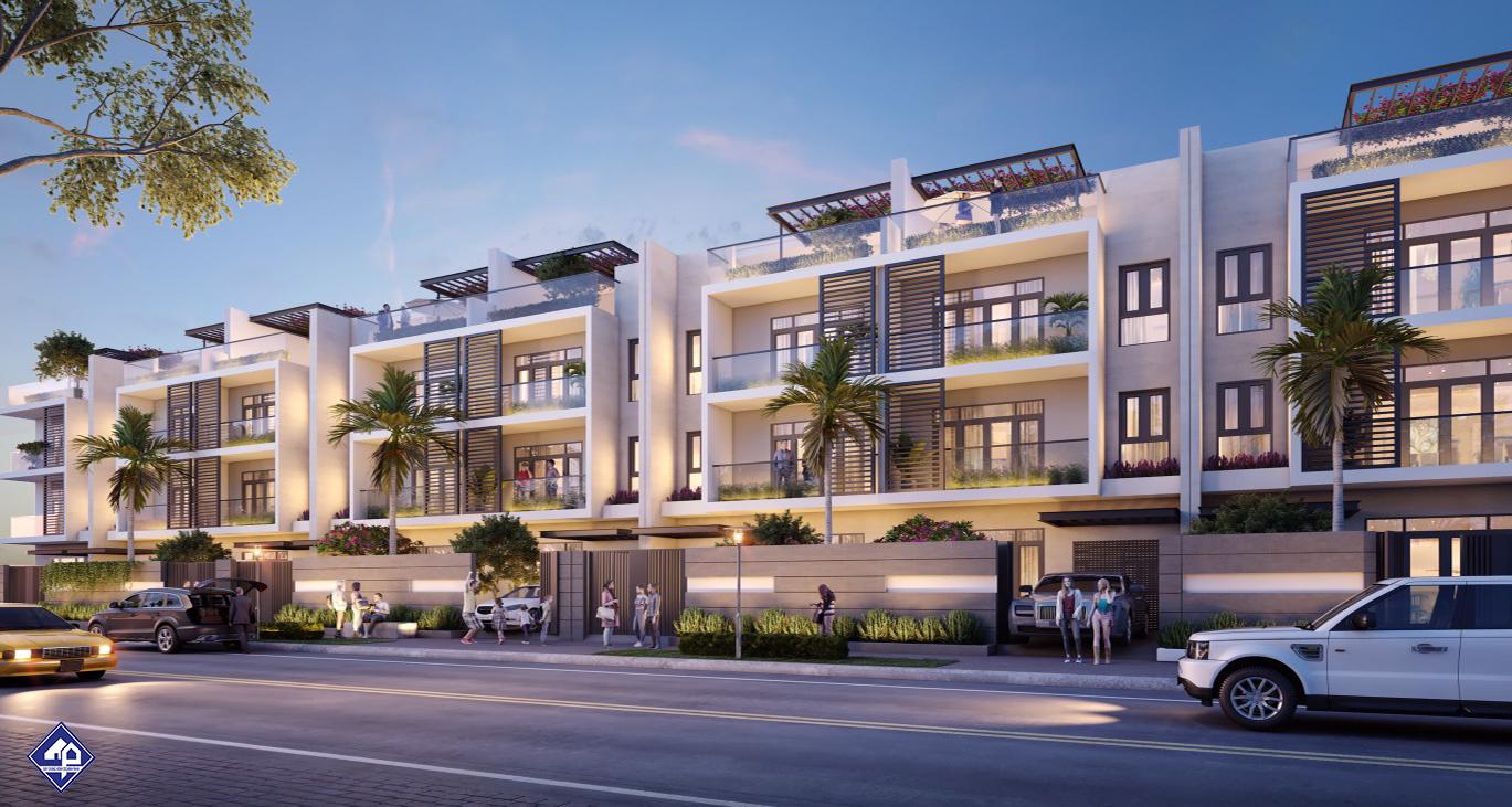 Phối Cảnh Biệt Thự Nhà Phố An Phú New City Quận 2